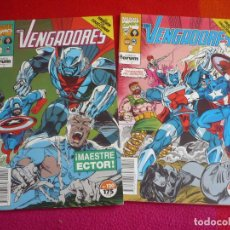Cómics: LOS VENGADORES VOL. 1 NºS 120 Y 121 ( HARRAS KUBERT EPTING ) ¡BUEN ESTADO! MARVEL FORUM. Lote 98183471