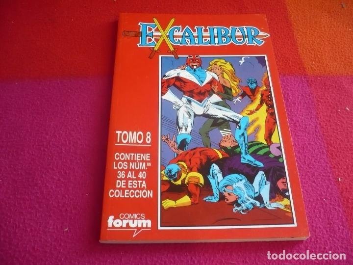 EXCALIBUR VOL. 1 NºS 36 AL 40 RETAPADO 8 ¡MUY BUEN ESTADO! MARVEL FORUM (Tebeos y Comics - Otros Forum)