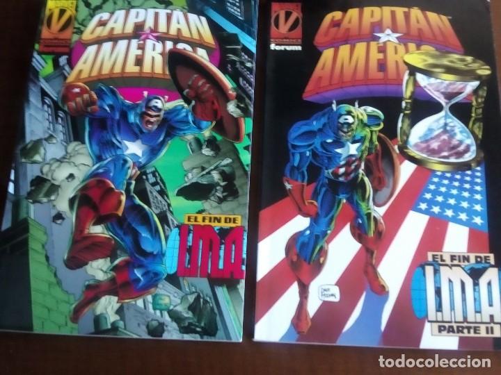 CAPITAN AMERICA 2 TOMOS AÑO 1996 (Tebeos y Comics - Forum - Capitán América)
