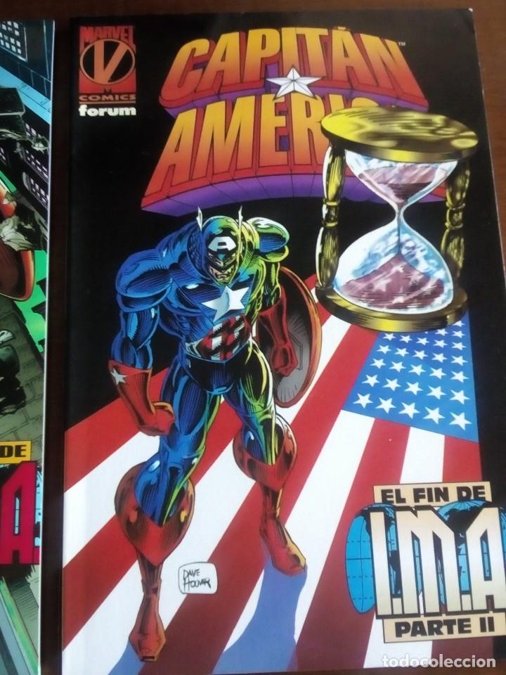 Cómics: CAPITAN AMERICA 2 TOMOS AÑO 1996 - Foto 3 - 98295039