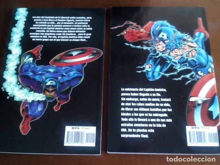 Cómics: CAPITAN AMERICA 2 TOMOS AÑO 1996 - Foto 4 - 98295039