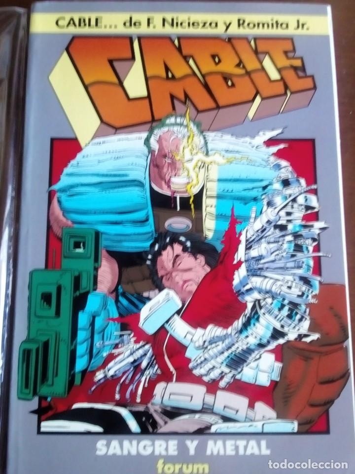 CABLE SANGRE Y METAL AÑO 1993 (Tebeos y Comics - Forum - Prestiges y Tomos)