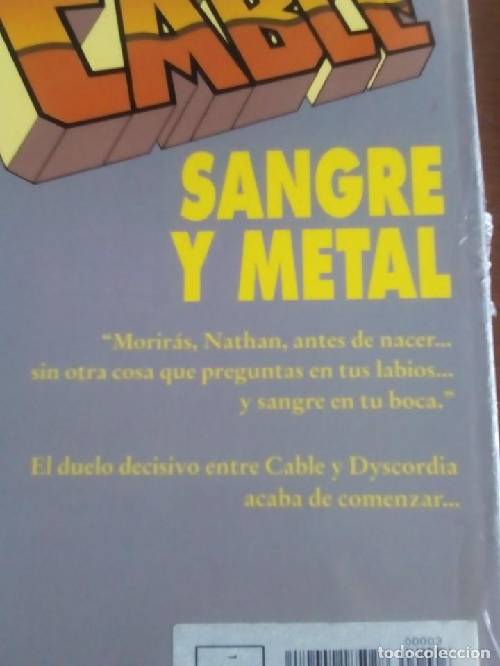 Cómics: CABLE SANGRE Y METAL AÑO 1993 - Foto 2 - 98314171
