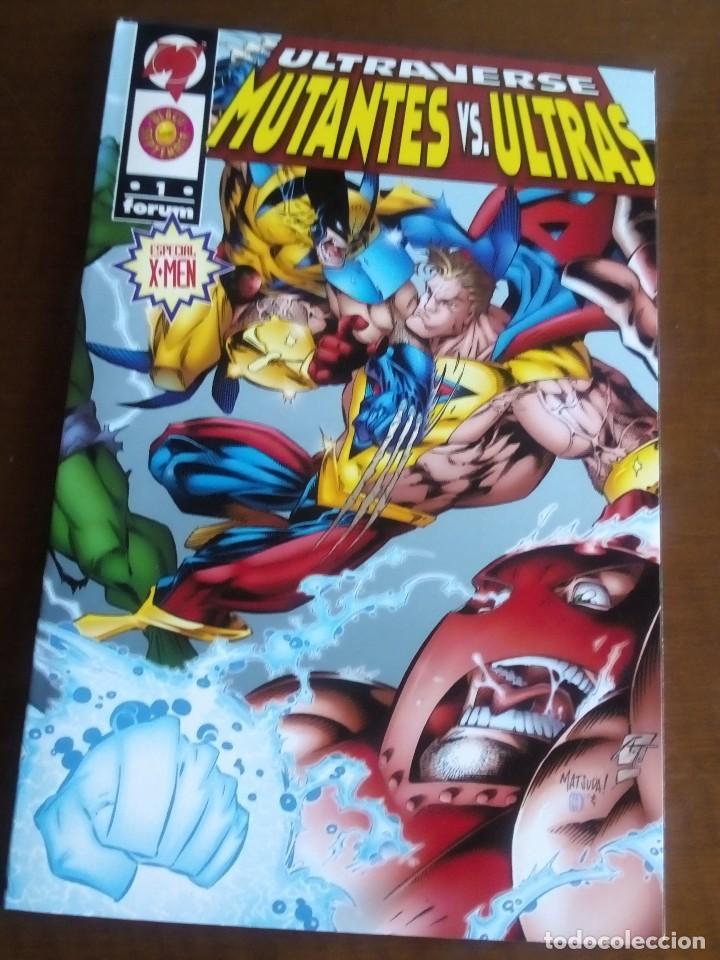 MUTANTES VS ULTRAS AÑO 1996 (Tebeos y Comics - Forum - Prestiges y Tomos)