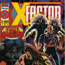 Cómics: COMPLETA - X FACTOR: LA ERA DE APOCALIPSIS # 1 AL 4 (FORUM,1995) - X-MEN. Lote 98352343