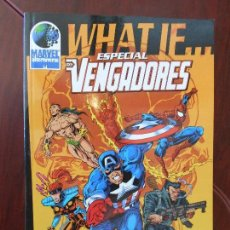 Cómics: WHAT IF... ESPECIAL LOS VENGADORES - MARVEL ALTERNIVERSE .- FORUM (7H). Lote 98354399