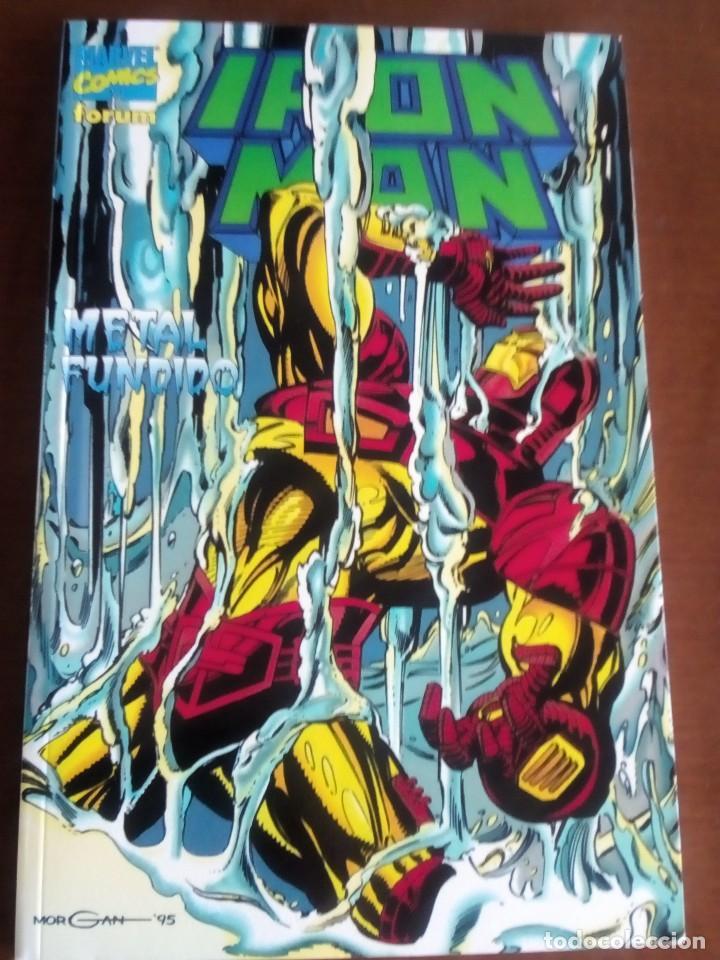 IRON MAN AÑO 1996 (Tebeos y Comics - Forum - Prestiges y Tomos)