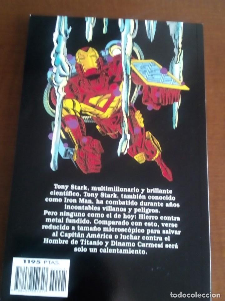 Cómics: IRON MAN AÑO 1996 - Foto 2 - 98355763