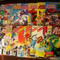 Cómics: ALPHA FLIGHT VOL. 1 Nº 34 AL 50 LOTE 17 NÚMEROS (34,35,36,37,38,39,40,41,42,43,44,45,46,47,48,49,50. Lote 98376467