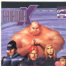 Cómics: LA PATRULLA X. VOLUMEN 2. Nº 82. Lote 98392115