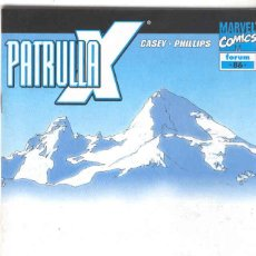 Cómics: LA PATRULLA X. VOLUMEN 2. Nº 86. Lote 98392219