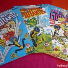 Cómics: LOS NUEVOS MUTANTES 52, 53 Y 54 ( CLAREMONT ) MARVEL TWO IN ONE COLOSO CICLOPE FORUM. Lote 98489687
