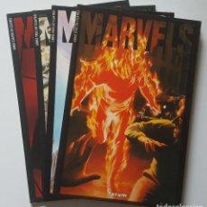 Cómics: MARVELS. NUMEROS 1- 4 (COMPLETA). ED. FORUM 1994. Lote 98491347