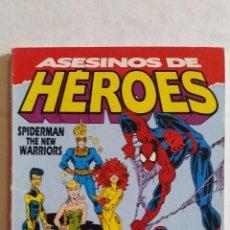 Cómics: SPIDERMAN / THE NEW WARRIORS: ASESINOS DE HÉROES. TOMO ÚNICO. FORUM 1993. Lote 98496363