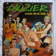 Cómics: LIBRO - LAUZIER - COSAS DE LA VIDA 4. Lote 98517275