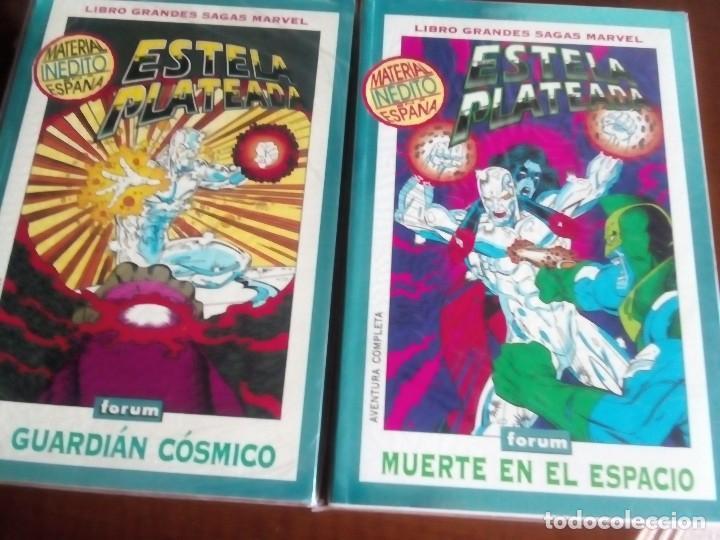 ESTELA PLATEADA 2 TOMOS COMPLETA AÑO 1994-1995 (Tebeos y Comics - Forum - Prestiges y Tomos)