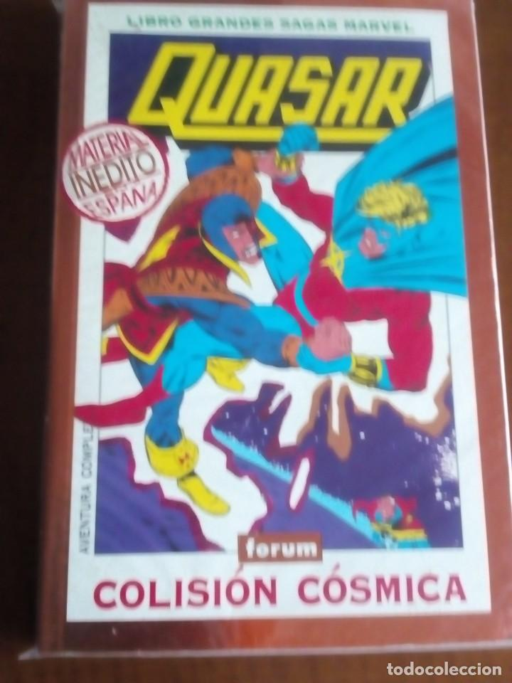 QUASAR COMPLETO AÑO 1995 LIBRO (Tebeos y Comics - Forum - Prestiges y Tomos)