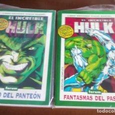 Cómics: EL INCREIBLE HULK 2 TOMOS AÑO 1994 Y 1995. Lote 98525991