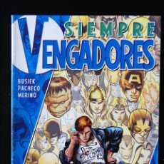 Cómics: SIEMPRE VENGADORES, Nº 1. BUSIEK, PACHECO, MERINO.. Lote 98532255