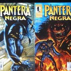 Cómics: MARVEL KNIGHTS: PANTERA NEGRA, NºS 1 Y 2. MARK TEXEIRA. FORUM.. Lote 98533639