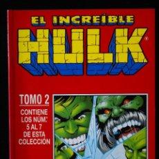 Cómics: EL INCREIBLE HULK, VOLUMEN 2/ VOL II,TOMO RETAPADO 2, NºS 5, 6 Y 7. FORUM.. Lote 98536935