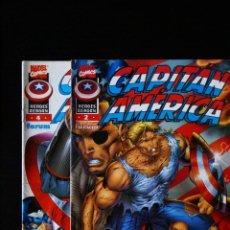 Cómics: CAPITÁN AMÉRICA. HEROES REBORN. NºS 2 Y 4. FORUM. SUELTOS CONSULTAR.. Lote 98542475