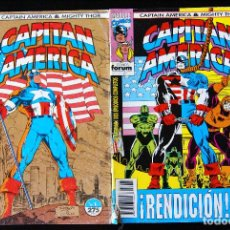 Cómics: CAPITÁN AMÉRICA/ THOR, VOLUMEN 2 / VOL II, NºS 1 Y 4.. Lote 98544407