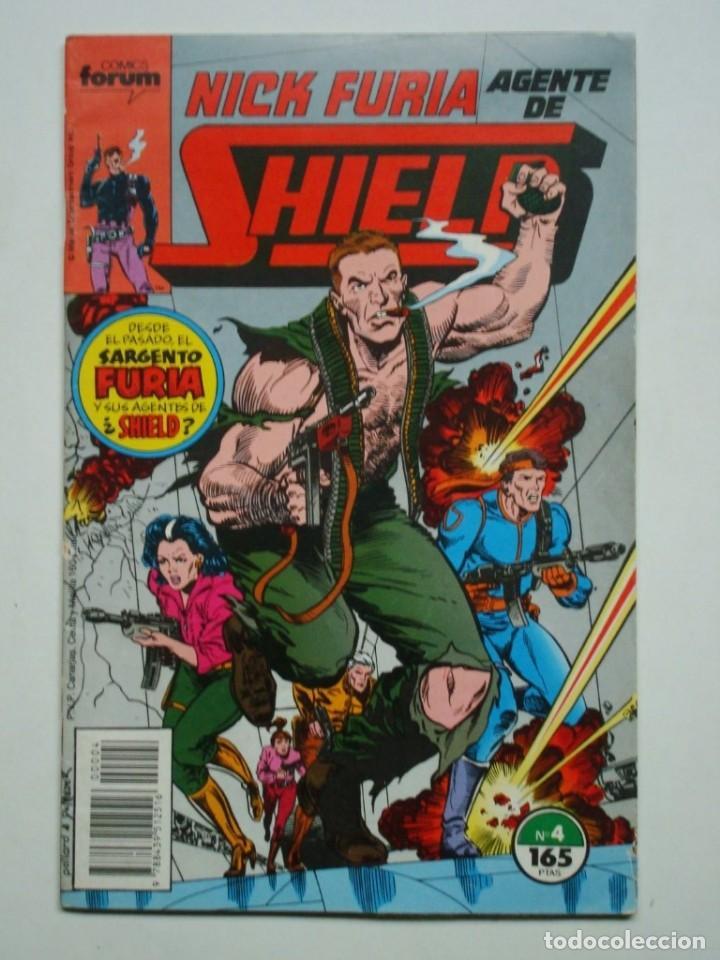 NICK FURIA AGENTE DE SHIELD Nº 4 (FORUM) (Tebeos y Comics - Forum - Furia)
