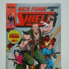 Cómics: NICK FURIA AGENTE DE SHIELD Nº 4 (FORUM). Lote 98578167