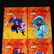 Cómics: X-MEN, LA ERA DE APOCALÍPSIS: LLIBROS 1, 2, 3 Y 4. COLECCIONABLE PLANETA DE AGOSTINI. /PATRULLA X.. Lote 98586147