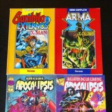 Cómics: GAMBITO Y LOS EXTERNOS + X-MAN + ARMA X + X-CALIBRE + RELATOS DE LA ERA DE APOCALÍPSIS /PATRULLA/MEN. Lote 98587079