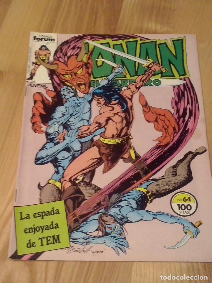 COMIC CONAN EL BARBARO FORUM PLANETA VOLUMEN 1 NUMERO 64 (Tebeos y Comics - Forum - Conan)