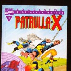 Cómics: BLIBLIOTECA MARVEL EXCELSIOR: PATRULLA X, Nº 1.. Lote 98591731