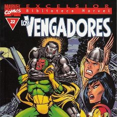 Cómics: BIBLIOTECA MARVEL: LOS VENGADORES # 22 (FORUM,2000) - THE AVENGERS - SAL BUSCEMA. Lote 98611355