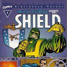 Cómics: BIBLIOTECA MARVEL: NICK FURIA AGENTE DE SHIELD # 1 (FORUM,2000) - NUMERO UNICO - JACK KIRBY. Lote 98611671