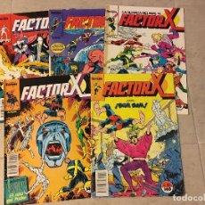 Cómics: FACTOR X. LOTE DE % COMICS DE LA 1ª EDICIÓN DE COMICS FORUM DEL AÑO 1988. Lote 98626463