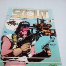 Cómics: BR SCOUT 2 COMICS FORUM CON MACHAS INTERIOR , VER FOTOS. Lote 98691166
