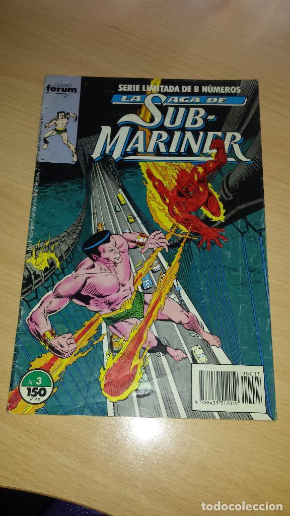 NAMOR LA SAGA DE SUB-MARINER Nº 3 - COMICS FORUM (Tebeos y Comics - Forum - Otros Forum)