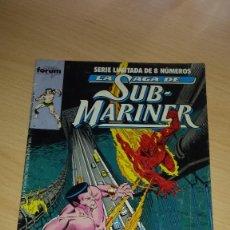 Cómics: NAMOR LA SAGA DE SUB-MARINER Nº 3 - COMICS FORUM. Lote 98702567