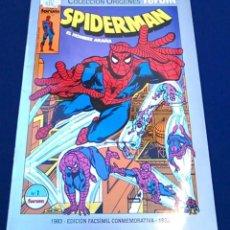 Cómics: COMIC SPIDERMAN EL HOMBRE ARAÑA, Nº 1. COLECCIÓN ORÍGENES FORUM. EDICIÓN FACSÍMIL CONMEMORATIVA.. Lote 98716591