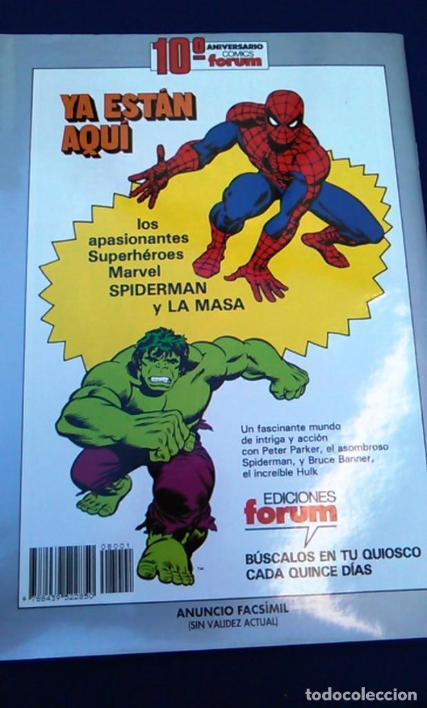 Cómics: Comic Spiderman el hombre araña, nº 1. Colección orígenes Forum. Edición facsímil conmemorativa. - Foto 5 - 98716591