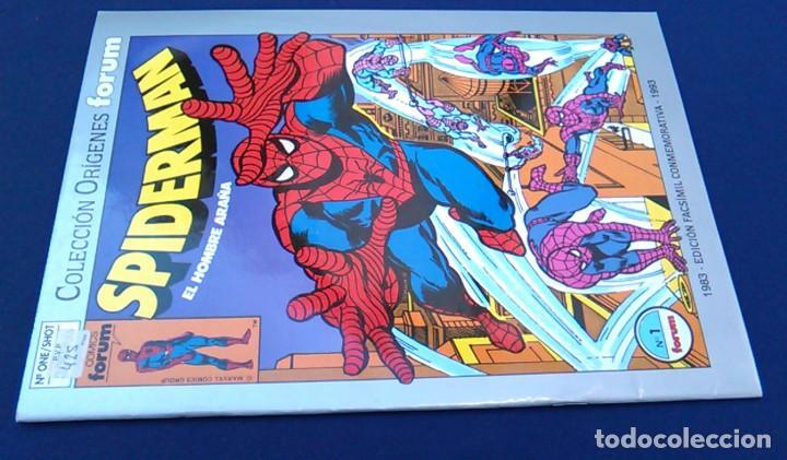 Cómics: Comic Spiderman el hombre araña, nº 1. Colección orígenes Forum. Edición facsímil conmemorativa. - Foto 7 - 98716591
