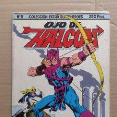 Cómics: OJO DE HALCÓN. COLECCIÓN EXTRA SUPERHÉROES N°5. EDICIONES FORUM, 1983. 92 PÁGINAS A COLOR.. Lote 98749207