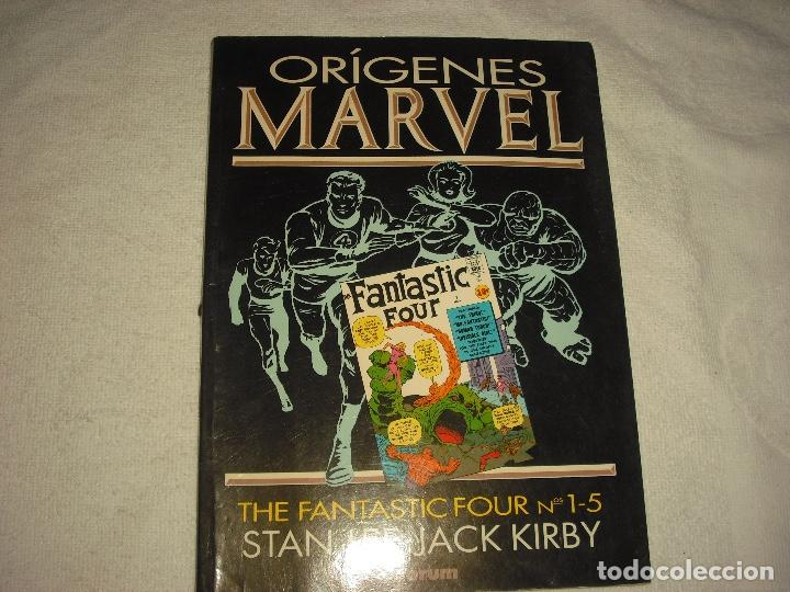 ORIGENES MARVEL . VOL. 1 . THE FANTASTIC FOUR N° 1-5 (Tebeos y Comics - Forum - 4 Fantásticos)