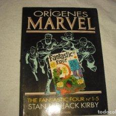 Cómics: ORIGENES MARVEL . VOL. 1 . THE FANTASTIC FOUR N° 1-5. Lote 98869663