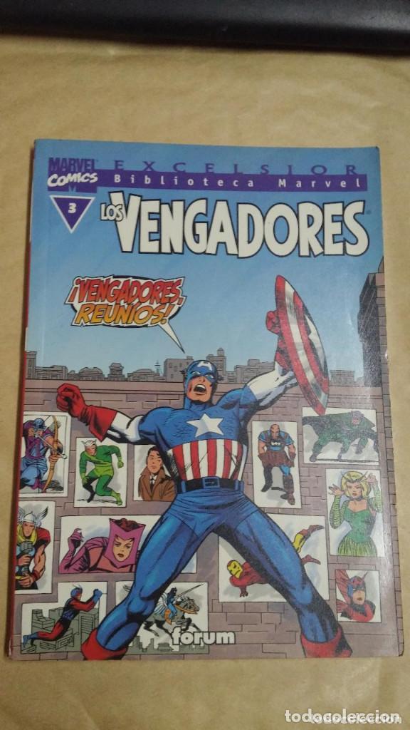 LOTE DE 13 EJEMPLARES DE LA COLECCION LOS VENGADORES Y 1 DE LOS CUATRO FANTASTICOS - MARVEL/FORUM (Tebeos y Comics - Forum - Vengadores)