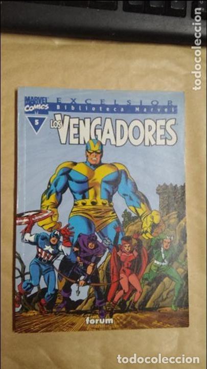 Cómics: LOTE DE 13 EJEMPLARES DE LA COLECCION LOS VENGADORES Y 1 DE LOS CUATRO FANTASTICOS - MARVEL/FORUM - Foto 2 - 98882807