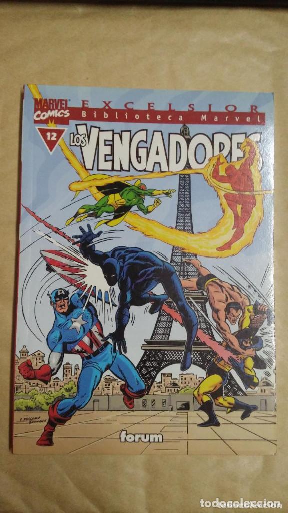 Cómics: LOTE DE 13 EJEMPLARES DE LA COLECCION LOS VENGADORES Y 1 DE LOS CUATRO FANTASTICOS - MARVEL/FORUM - Foto 6 - 98882807