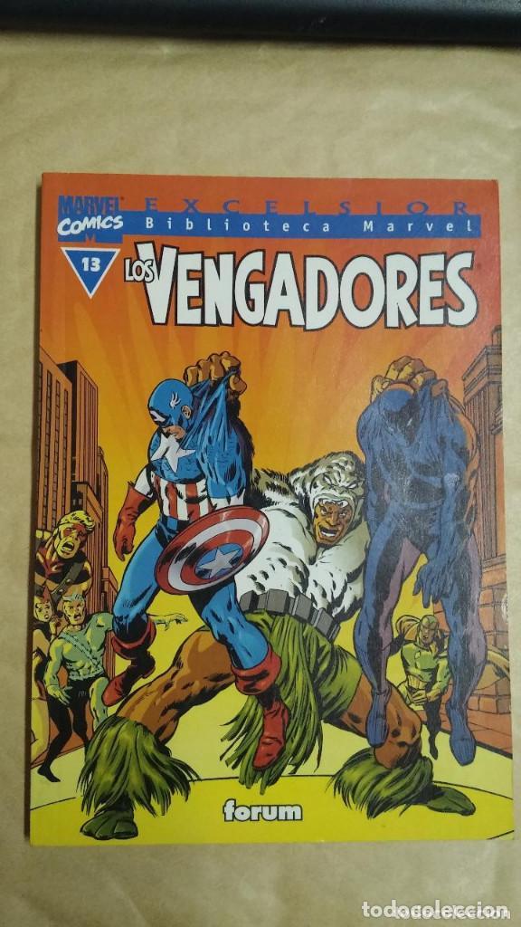 Cómics: LOTE DE 13 EJEMPLARES DE LA COLECCION LOS VENGADORES Y 1 DE LOS CUATRO FANTASTICOS - MARVEL/FORUM - Foto 7 - 98882807
