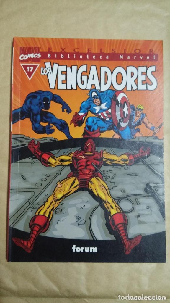 Cómics: LOTE DE 13 EJEMPLARES DE LA COLECCION LOS VENGADORES Y 1 DE LOS CUATRO FANTASTICOS - MARVEL/FORUM - Foto 8 - 98882807